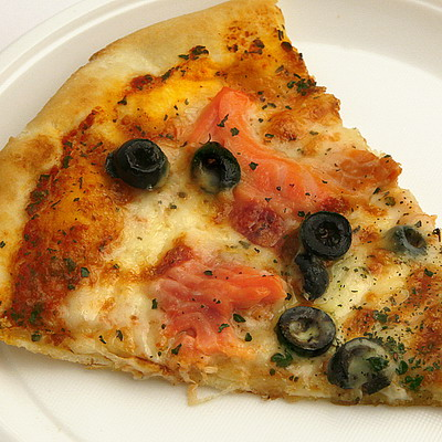 Пицца с рыбой рецепт